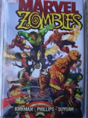 Marvel Zombies Hardcover Dynamic Forces Signed Arthur Suydam COA Ltd 50 DF